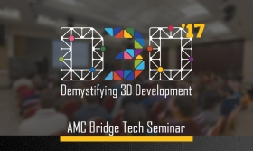 AMC Bridge Hosted a Technical Seminar D3D 2017